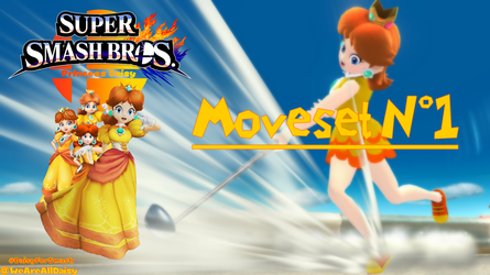 Support Daisy for Smash 2018 : Moveset #1 by DaisyPotential