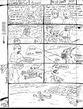 THE ULTIMATE BATTLE pg.303 by DW13-COMICS