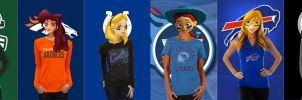 Disney Girls NFL Series 2 by nickelbackloverxoxox