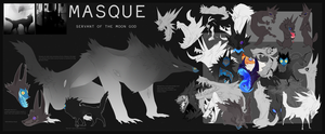 Masque Reference Sheet by Dusty-Demon