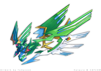 Ultra-Wing Harpuia by Tomycase