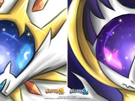 Pocket Monsters Sun and Moon - Legendary by kaminari-25