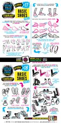 How to draw FEET and SHOES tutorial by STUDIOBLINKTWICE