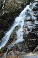 WaterFall at High Shoals Trail by BritishGirlWanna2Be