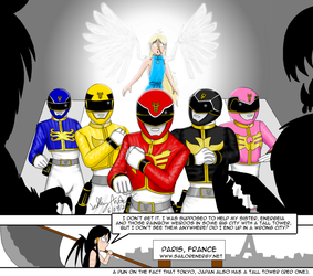 Artrade Energeia Goseigers by SailorEnergy