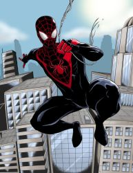 Miles Morales by TimelessUnknown