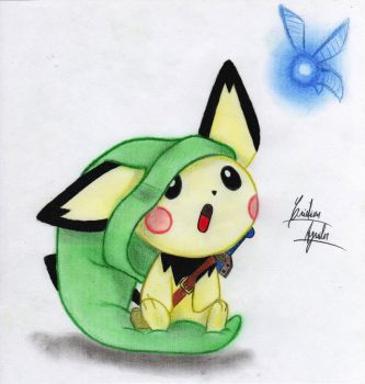 Pichu, Hey Listen! by ChristARG