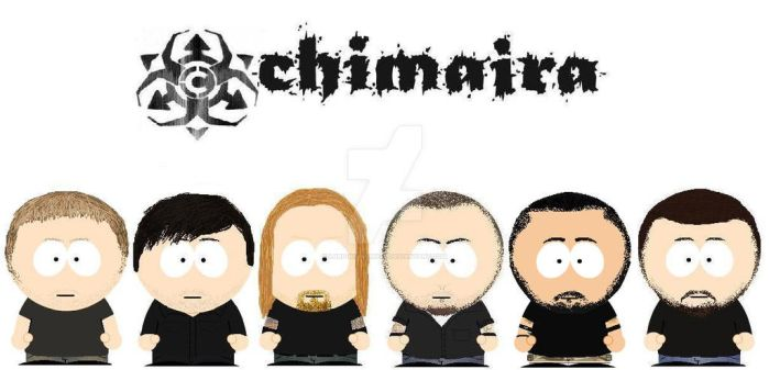 South Park Chimaira by lord-nightbreed
