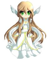 Points Adoptable : White Priestess (CLOSED) by Kyubey-chan