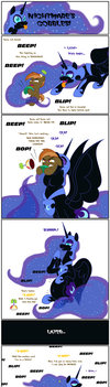VORE: Nightmare's Gobbles: Button's One Up by BBBHuey