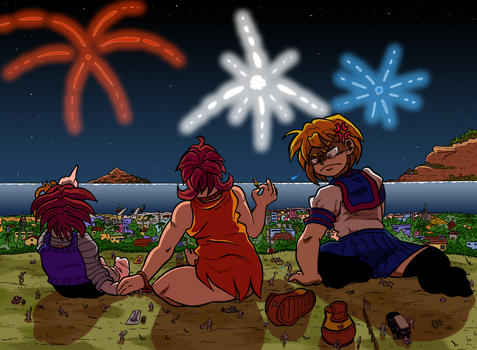 Fourth Of July by labbaART
