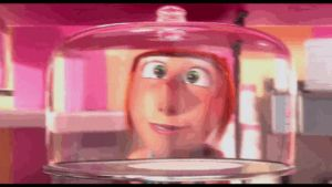 despicable me 2 gif - Lucy's funny face by VanessaGiratina