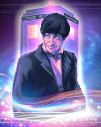 Doctor Who - Patrick Troughton by Kachumi
