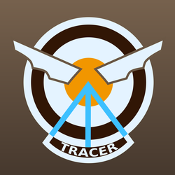 Tracer Patch [Player Icon] - Vector by gabrielwoj