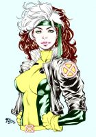 Rogue by Fredbenes in color by GordonAlyx