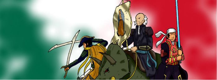 Knights of the Old Mexico by SuzumeFujida