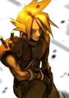 Cloud Strife by moonmossi