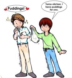 Puddings for big brother by haidokun14