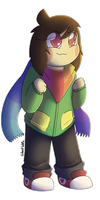 Storyswap Chara by Silentwoofz
