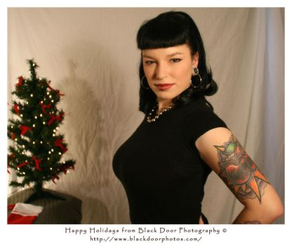 Holiday Pin-Up 1 by BDP by CitizenNomad