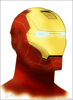 Iron Man Vector by Arubaru