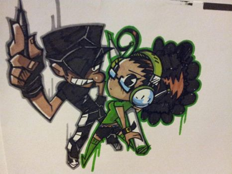 Chip n DJ Now in Colour! by ChipTooth