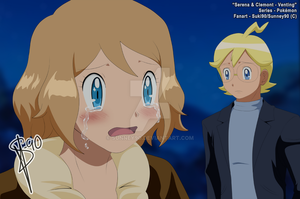 Pokemon :: Serena and Clemont :: Venting by Sunney90