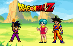 108. Goku and Bulma by BeeWinter55