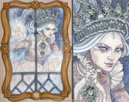The Snow Queen at your window by BohemianWeasel