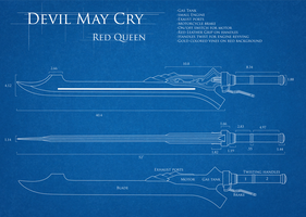 DMC4 Red Queen Blueprint by TarasqueProductions