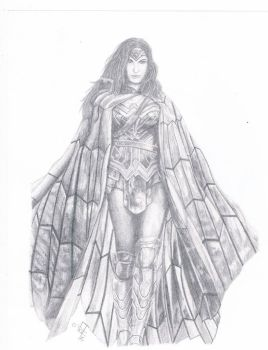 Wonder Woman  by argenis-trejo
