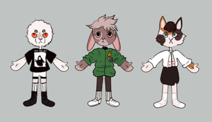 anthro adopts [closed] by snudder