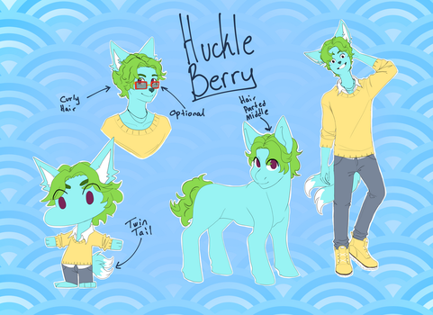 Huckleberry reference by Heise-kun