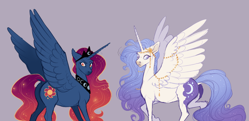 MLP   A Royal Problem by queerly