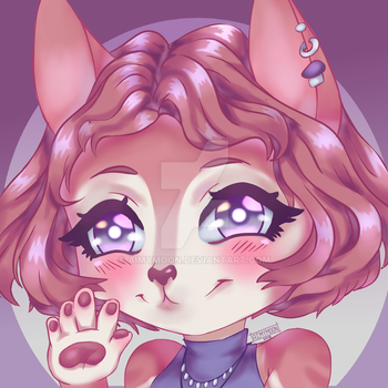 YCH COMMISSION FINISHED ICON #6 by AimyMoon