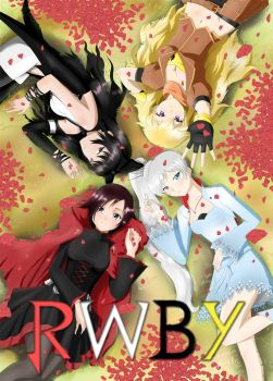 RWBY Poster by kimmy77