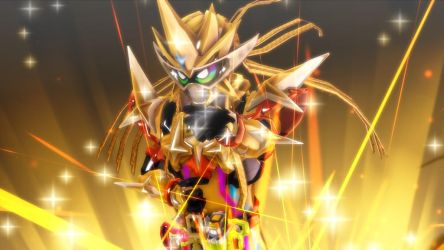 [MMD KAMEN RIDER] The Invincible Gamer by MIST-TO-GUN