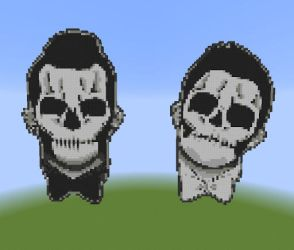 Twenty One Pilots Pixel Art by TheLuckyShamrock