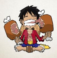 Monkey D Luffy by titan9393