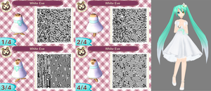 Animal Crossing New Leaf: White Eve by Nevasarini