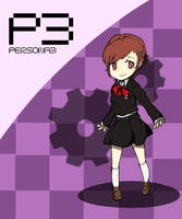 Persona Q: Female Protagonist by Antares25