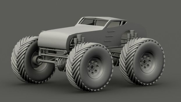 Monster Truck by elements212