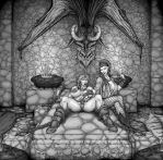 NordicSteel - The Bed of Stone - Chastity by TheSoggo