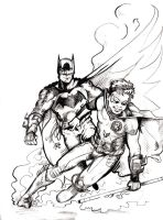 The Dynamic Duo by theDANEtrain