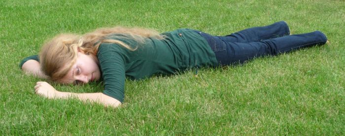 lying on the grass 5 by indeed-stock