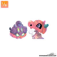 10/01 - Pumpkaboo and Cubone!