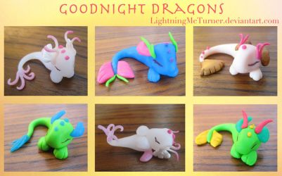 Goodnight Dragons by LightningMcTurner