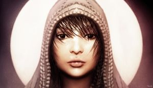 Hooded Girl by sancient