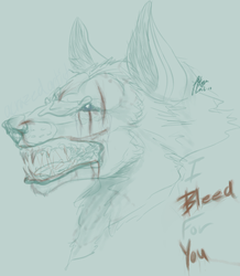 i bleed for you by CrazedTheratis