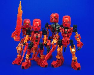 Bionicle - Tahu Comparisons by Lalam24